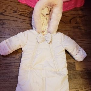 Jessica Simpson new w/o tags baby girl snowsuit
